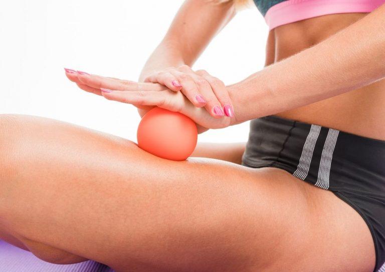 Massage balls relieve muscle pain