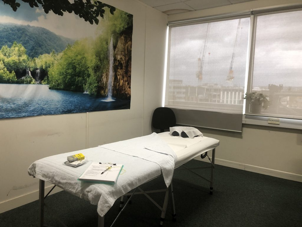 volunteering as a complementary therapist