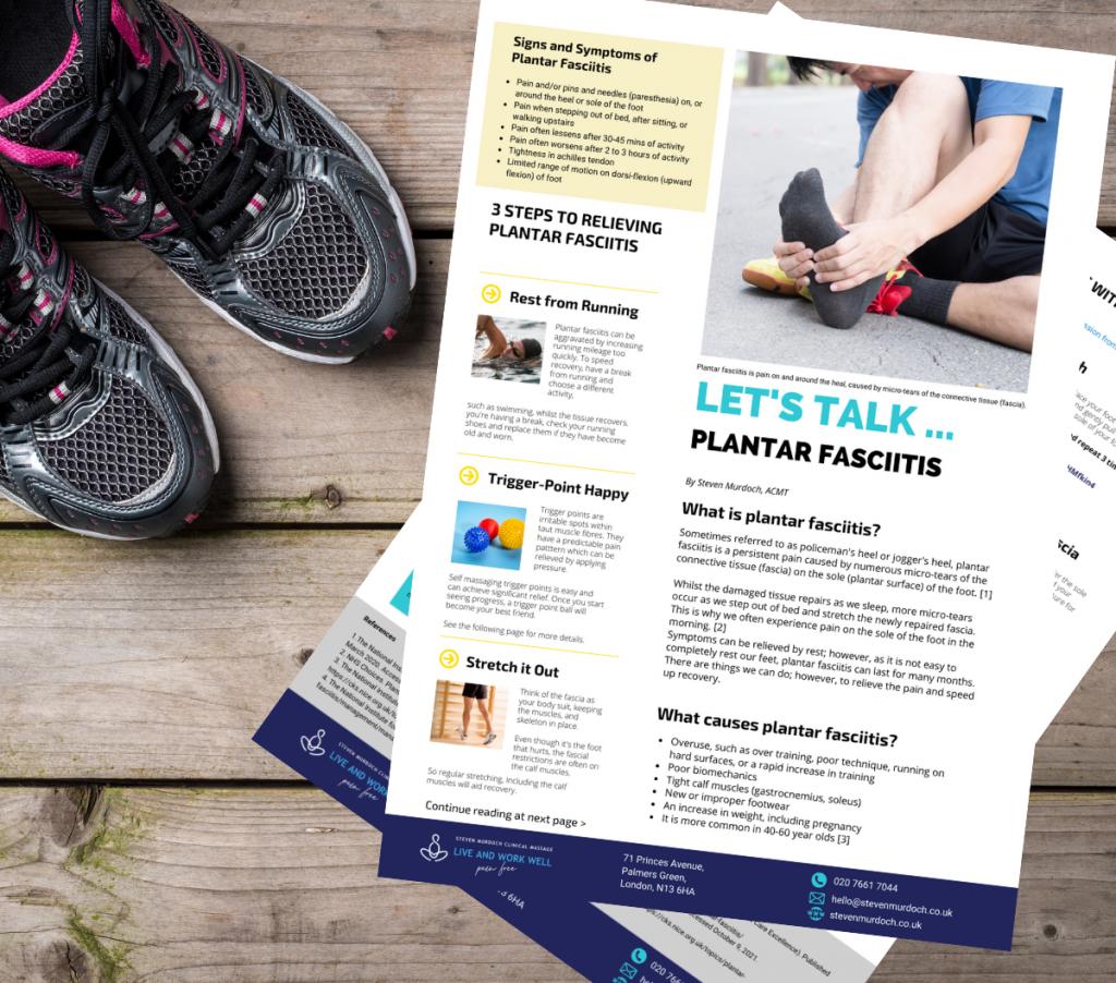 Plantar fasciitis fact sheet download